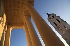 Базилика Вильнюса Стоковые Фото