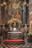 Базилика Краков St Mary Стоковая Фотография RF