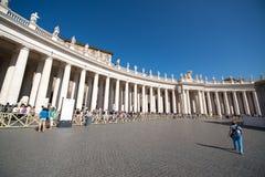 Базилика Сан Питера, Рим Стоковая Фотография