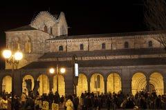 Базилика Святого Винсента в Авила стоковые изображения
