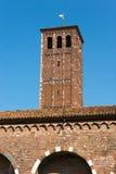 Базилика Святого Ambrogio - Милана Италии Стоковое Изображение
