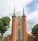 Базилика святой троицы в Гданьске Oliwa Стоковое Фото