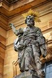 Базилика 14 святых хелперов в Баварии, Германии Стоковое Изображение