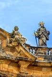 Базилика 14 святых хелперов в Баварии, Германии Стоковое Изображение RF