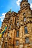 Базилика 14 святых хелперов в Баварии, Германии Стоковая Фотография