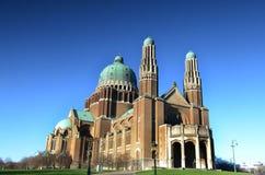 Базилика священного сердца, Брюссель Стоковое фото RF