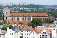 Базилика собора Каунаса Стоковое Изображение RF