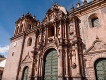 Базилика собора предположения девственницы в Cusco Стоковое Фото