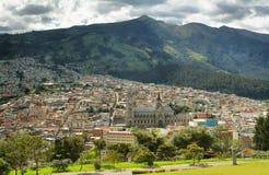 базилика эквадор quito Стоковые Изображения RF