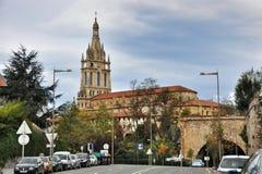 Базилика Begona в Бильбао Стоковое Фото