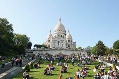 Базилика coeur Sacre Стоковые Изображения