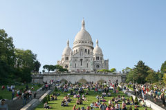 Базилика coeur Sacre Стоковое Изображение