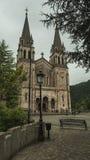 Базилика Covadonga, Астурии, Испании Стоковая Фотография
