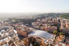 Базилика di Сан Pietro в Ватикане Стоковое фото RF