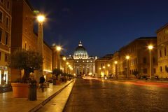 базилика di pietro san Стоковые Фотографии RF