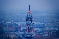 Базилика di S Alessandro в Colonna-Бергам-Италии Стоковое Изображение RF