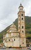 Базилика madonna di tirano. стоковые фото