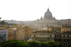 Базилика ` s St Peter в государстве Ватикан стоковые фото