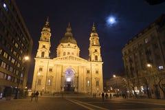 Базилика ` s St Stephen в Будапеште, Венгрии Стоковые Изображения