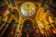Базилика ` s St Stephen Стоковое Фото