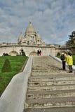 Базилика Sacre Coeur, Парижа Стоковое Изображение RF