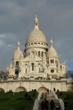 Базилика Sacre Coeur, Парижа Стоковая Фотография RF