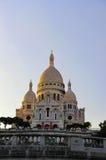 Базилика Sacre Coeur, Париж, Франция Стоковое Изображение