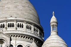 Базилика Sacre Coeur перемещения Парижа - священное сердце Стоковые Изображения RF