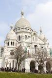 Базилика Sacre Coeur Стоковое Изображение