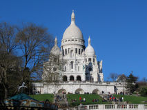 Базилика Sacre Coeur Стоковые Фото