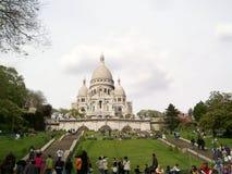 Базилика Sacre Coeur Стоковая Фотография RF