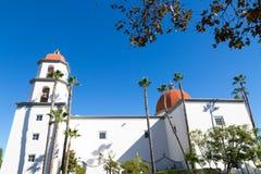 Базилика San Juan Capistrano Стоковое Изображение RF