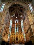 Базилика Santa Croce, Флоренса, Италии Стоковое Изображение RF