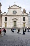 Базилика Santa Maria del Popolo Италия rome Стоковое Изображение