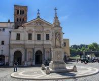 Базилика St Bartholomew Стоковые Фото