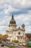 Базилика St Mary в Миннеаполисе, MN Стоковые Фотографии RF
