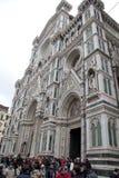 Базилика St Mary цветка в Флоренсе стоковые изображения rf