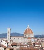 Базилика St Mary цветка, Флоренса Стоковое Изображение RF
