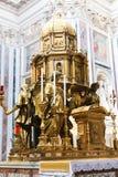 Базилика St Peter, Ватикан Стоковое фото RF