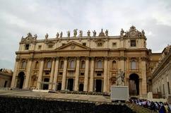 Базилика St Peter в государстве Ватикан Стоковая Фотография RF