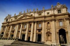 Базилика St Peter в государстве Ватикан Стоковое Изображение RF