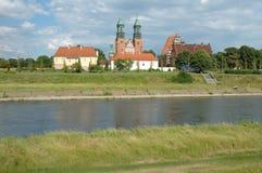 Базилика St Peter и Пола в Poznan, Польше Стоковая Фотография