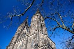 Базилика St Peter и St Paul, Праги стоковая фотография rf