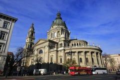Базилика St Stephen в Будапеште, Венгрии, 19-ое ноября 2015 Стоковые Изображения RF