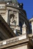 Базилика St Stephen в Будапеште, Венгрии, 23-ье ноября 2015 Стоковые Изображения RF