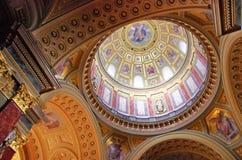 Базилика St Stephen s, Будапешт, Венгрия Стоковое Изображение