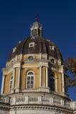 Базилика Superga Турина Италии Стоковое Фото
