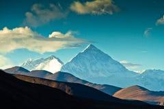 Базовый лагерь Тибет Mount Everest Стоковые Фотографии RF