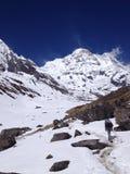 Базовый лагерь Annapurna - Непал, Гималаи Стоковое Изображение