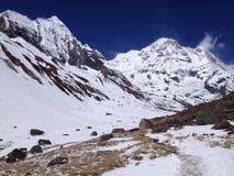 Базовый лагерь Annapurna - Непал, Гималаи Стоковые Изображения